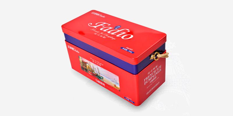 法蒂欧法式冰粽礼盒马赛港湾铁盒装