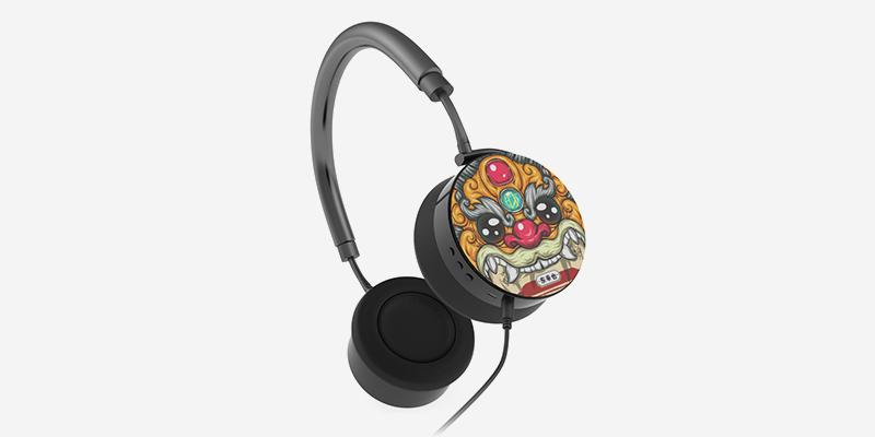 东来也蓝牙耳机双耳头戴式降噪无线运动蓝牙耳机超长续航