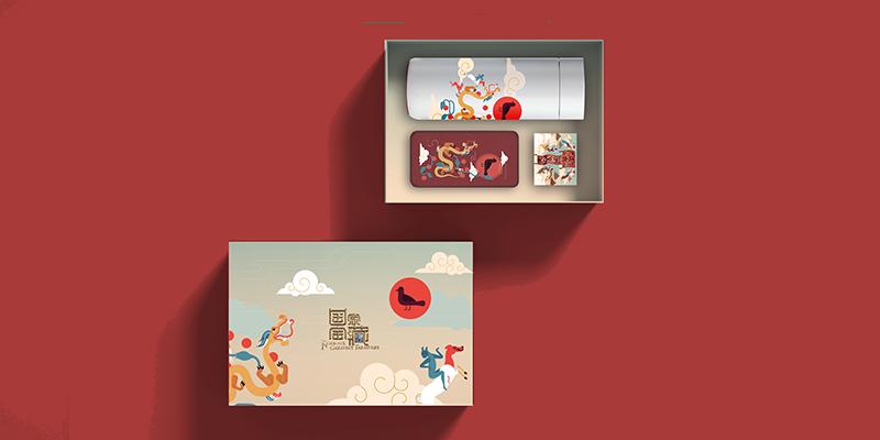 国家宝藏元素套盒(T型帛画)
