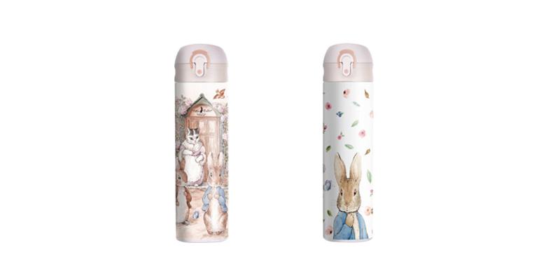 比得兔(Peter Rabbit)弹跳盖保温杯400ML