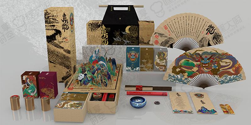 东方龍  端午节粽子礼盒高端企业全定制