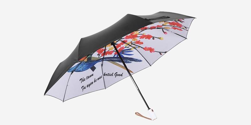隔离紫外线自动开收遮阳伞